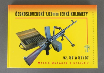 Česká kniha Light Machine Rifle WZ52 / 57 CZ