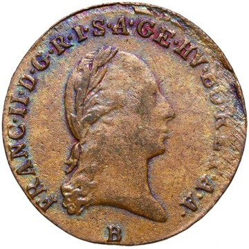 + Rakúsko - Franciszek II - 1 KRAJAR 1800 B