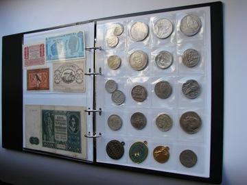 KLASER B5 Album pre mince a super kvalitné bankovky