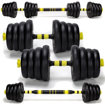 Dumbbell 30kg 2x115kg Barbell Sada Hotfish Dumbbells