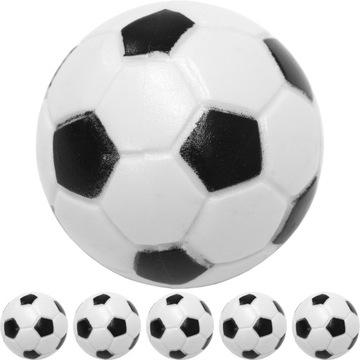 Ballové loptičky pre stolný futbal 5 ks. ČIERNA A BIELA