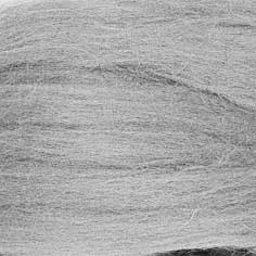 Česaná vlna POĽSKO česaná 10g sivá