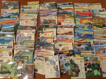 Sada poľských máp Postcrossing 100 kusov