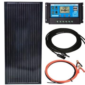 Solárna panelová batéria 140W + Regulátor