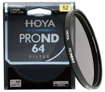 Hoya 52mm Filter Grey Grey Futer 64 veľmi tmavé