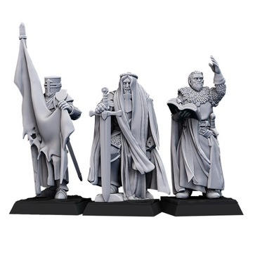 CMD Crusaders - Bretonnia - Highlands Miniatúry