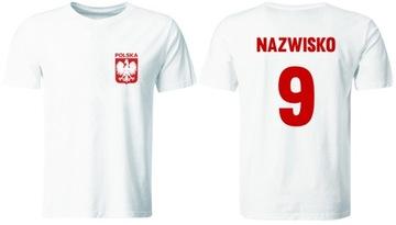 Poľské tímové tričko s vlastnou potlačou
