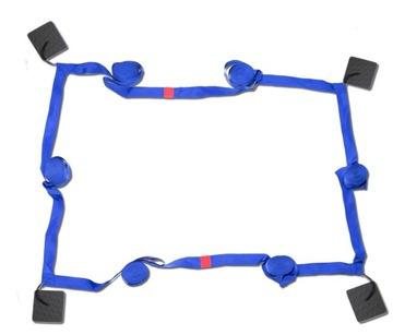Plážové volejbalové kurzy 5cm BLUE D