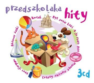 Przedszkolaka hity 1 BOX 3xCD pesničky pre deti!