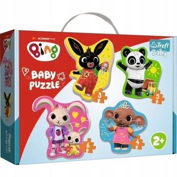 Prvé puzzle Bing a priatelia Trefl Baby 2+