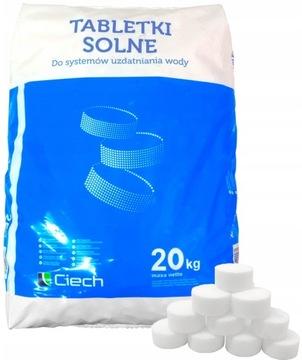Tablety soľnej soli Tablet Softy Balenie