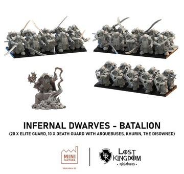 Infernal Dwars - Battalion -Lost Kingdom -Druk 3D