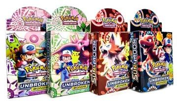 Pokemon Giga Cards Set 4x52CARTS Celkom 208 kariet