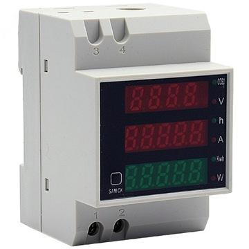 Digitálny counter voltmeter watmeter ammeter
