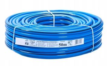 Technická hadica obrnená 10mm PVC drôt 20bar 50m