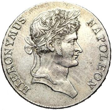 + Westphalia Hieronim Napoleon 1 Talar 1811 Silver