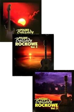 POĽSKÝ BALLADY ROCKOWE KULT, DZEM, TSA (3CD)
