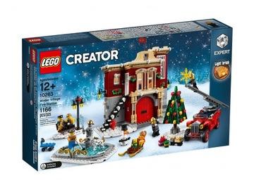 LEGO CREATOR 10263 Hasičská stanica v dedine
