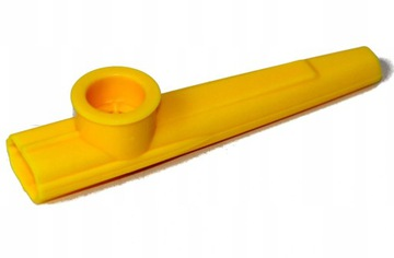 Kazoo plastová žltá