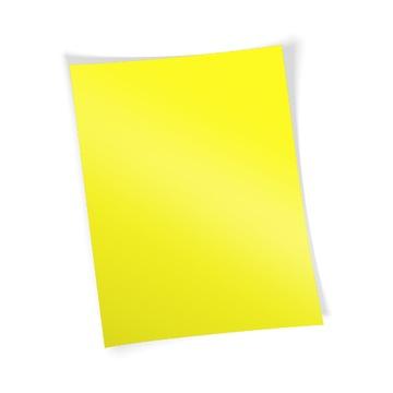 Flex-mäkká fólia (no-cut) žltá neon - A-fólia - A3