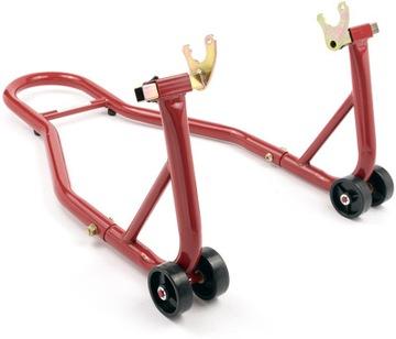 Zdvihák motocyklov v-tech - Zadná červená