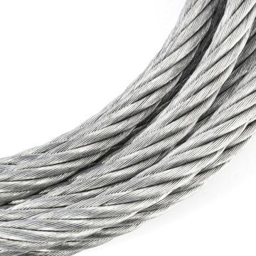 Pozinkované oceľové lano 10mm Weave 6x37 pozinkované 10m