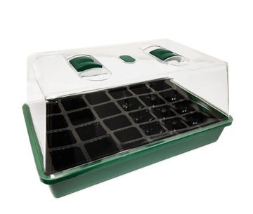 Mini Greenhouse Seedling pre sejacie vetranie 24