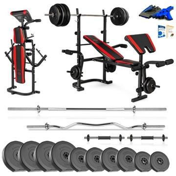 Xylo Gym 104 kg Bench Set + Gryfy + LOAD