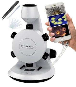 Vzdelávací digitálny mikroskop 600x zoom Android USB