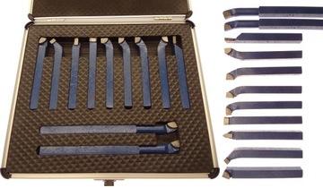 Sada otočných nožov 8x8 mm 11ks otočenie noža