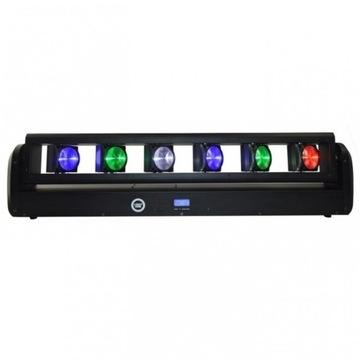 LIGHT4ME BEAM BAR 6X12W RGBW Výstava