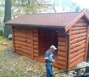 dreváreň drevárne sklady dom na náradie