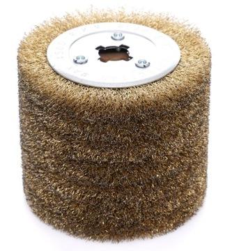Valcový brúsny kotúč s mosadzným drôtom 120