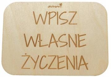 decoritems_pl personalizácia zadnej strany dreveného plechu