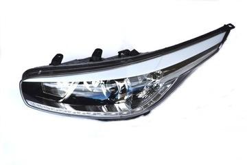 Рефлектор фара kia ceed светодиод 2012 левая - состояние хорошее состояние, фото