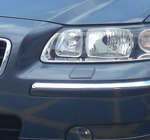 Заглушки омывателя volvo s60 1 facelift цвета, фото