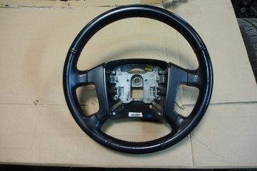 Kia sorento 1 06-09 рестайлинг руль кожа, фото