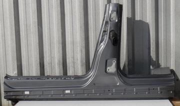 Mercedes b класса w245 рестайлинг 10 r порог левый 787, фото