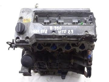 Mercedes vito w638 2.3 b двигатель 111. 978 распечатка, фото