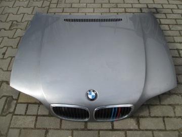 Капот bmw 3 e46 coupe рестайлинг silbergrau металл., фото