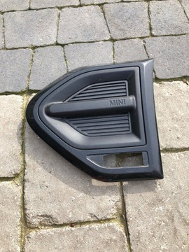 Левая защита поворотник решетка mini f60 7414091, фото