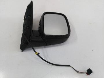 Vw caddy 2k 3 зеркало правое левое 5 контактов, фото