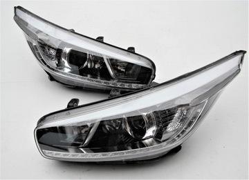 Kia ceed 2 2013 2014 2015 2016 рефлектор светодиод левая+ r, фото