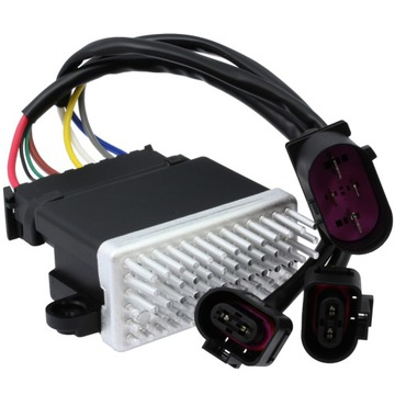 Блок вентилятора контроллер audi a4 b8 a5 a6 q3 q5, фото