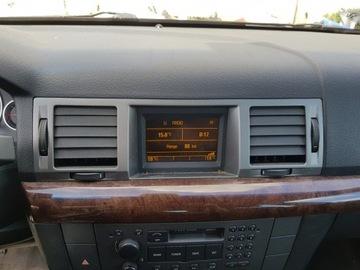 Opel vectra c дисплей магнитолы панель рамка решетка, фото