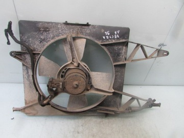 Vectra b 1.6 16v 96r вентилятор радиатора воды, фото