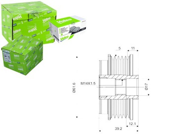 Сцепление генератор alfa romeo brera 3.2 jts (939, фото