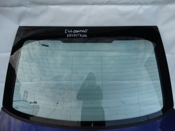Капот bmw e46 compact velvetblau, фото
