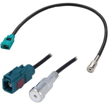 Адаптер разделитель антенный разъем iso fakra mercedes, фото
