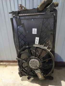 Радиатор комплектная 3m5h-8c607-rg volvo v50 1.8, фото